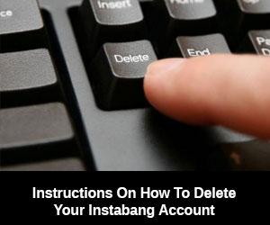 Delete Instabang