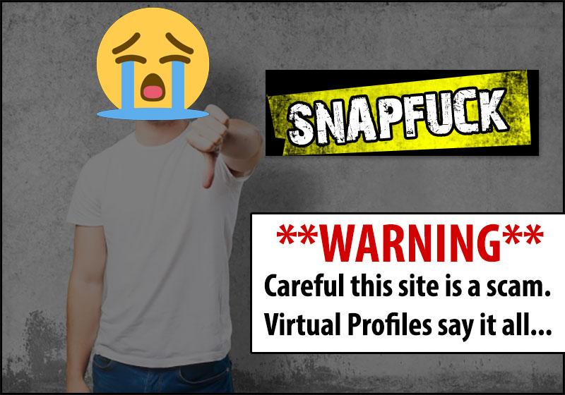 snapfuck profile scam