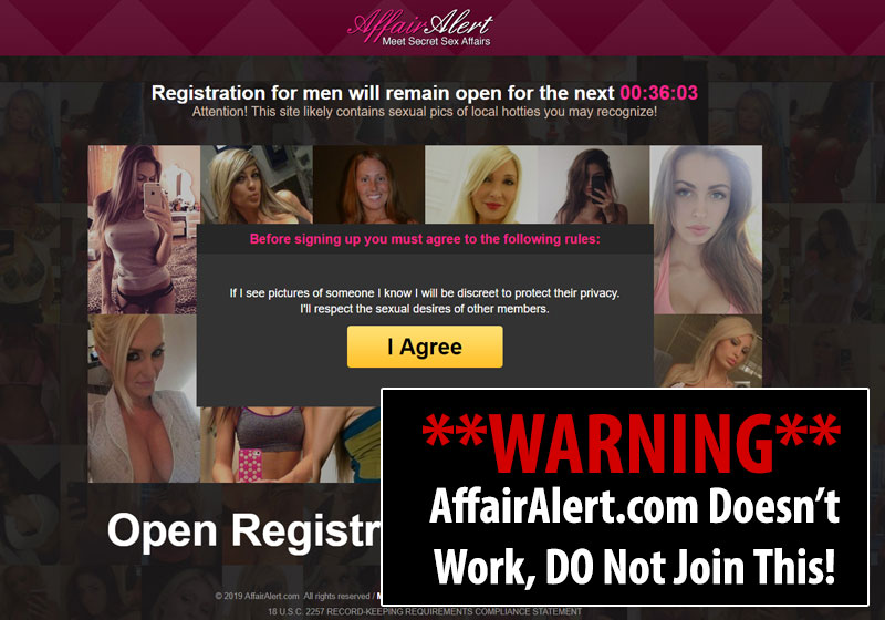 AffairAlert.com Homepage