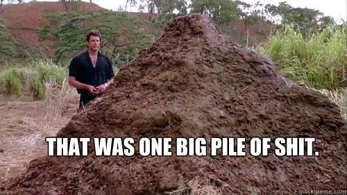 pile of dog poop