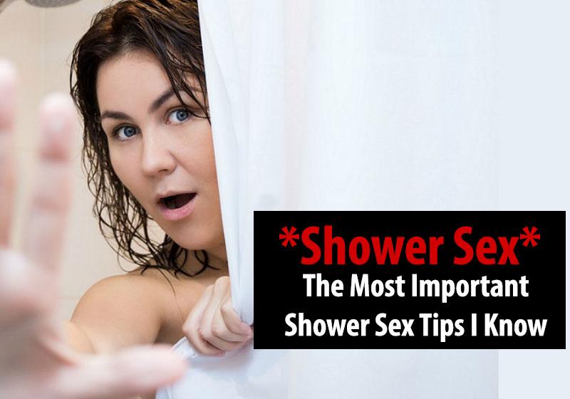 Shower Sex tips