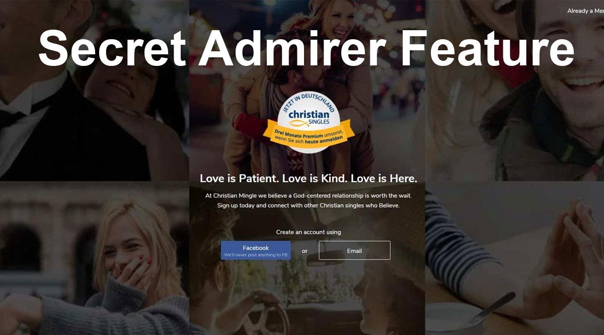 christian mingle secret admirer feature